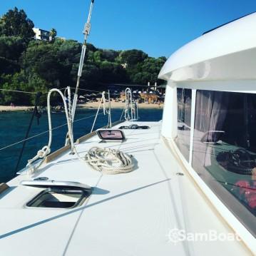 Alquiler de barcos Propriano barato de Lagoon 400 S2
