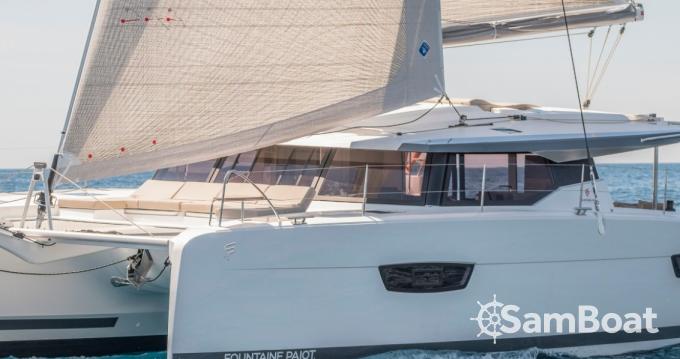 Alquiler de yate Ibiza (Ciudad) - Fountaine Pajot Astrea 42 en SamBoat