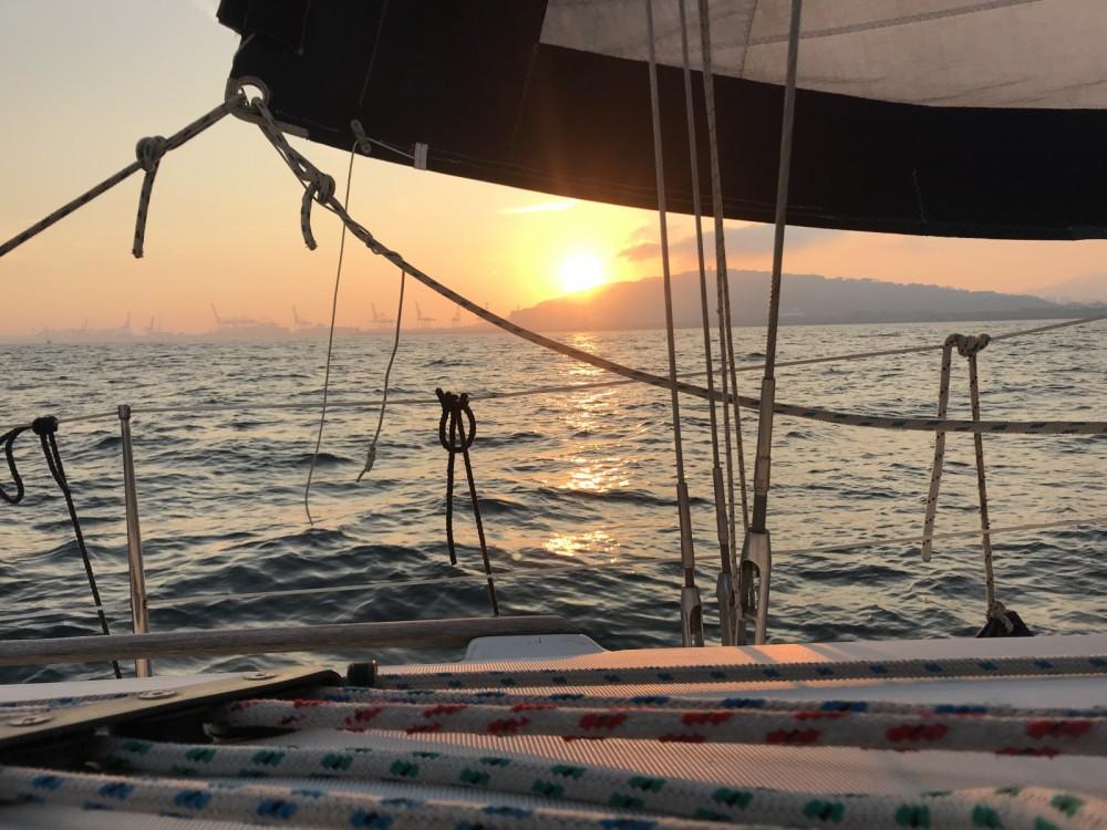 Alquiler de Jeanneau Sun Odyssey 40 en Port Olímpic