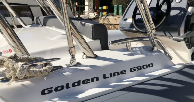 Alquiler Neumática en Badia de Santa Ponça - Grand Boats Golden Line G500LF