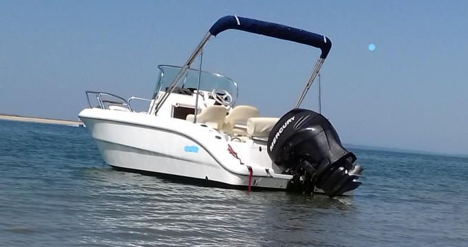 Alquiler Lancha Sessa Marine con título de navegación