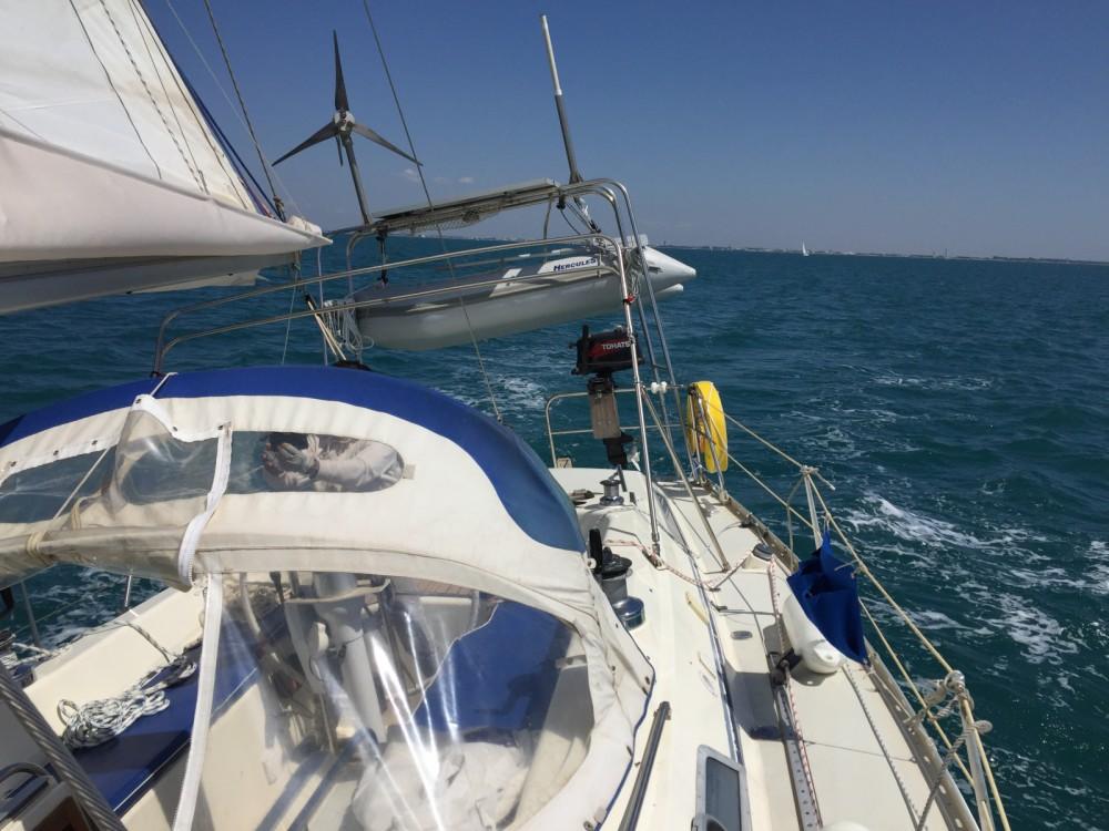 Alquiler Velero Freedom con título de navegación