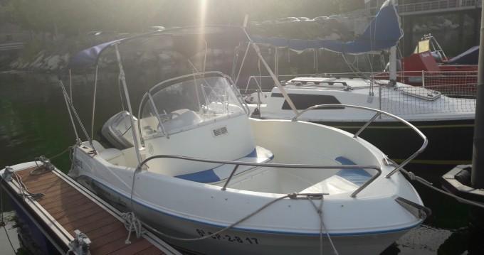 Alquiler de barcos Cobres barato de Quicksilver 525 Flamingo