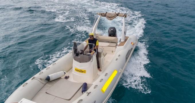 Alquiler de barcos Capelli Tempest 770 enPalma de Mallorca en Samboat