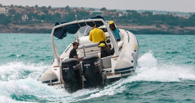 Alquiler Neumática Capelli con título de navegación