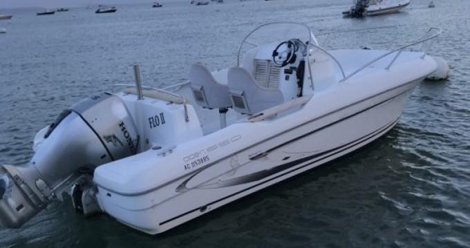 Alquiler de barcos Lège-Cap-Ferret barato de Flyer 650 Open