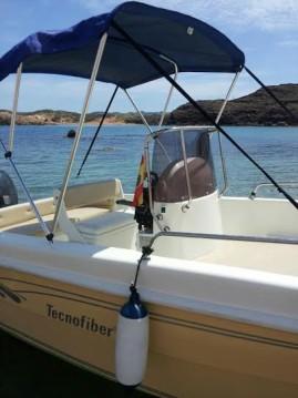 Alquiler Lancha en Ciutadella - tecnofiber almar 190
