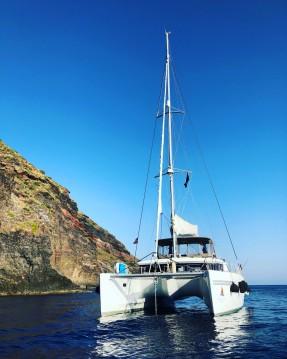 Alquiler de barcos Capo d'Orlando barato de Lagoon 450 F