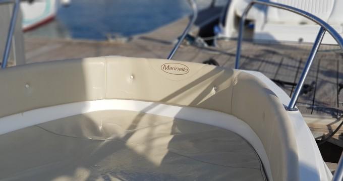 Alquiler Lancha Marinello con título de navegación