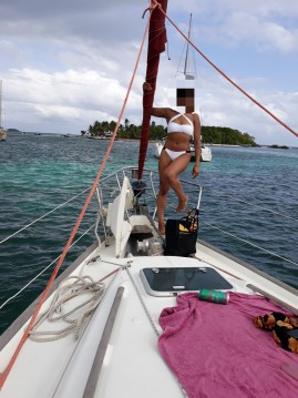 Alquiler de barcos Bénéteau Oceanis 411 Clipper enMarie-Galante Island en Samboat
