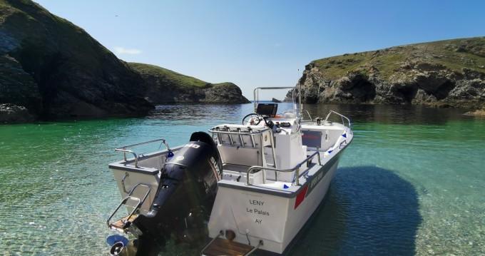 Alquiler de barcos Pro-2000 OPEN 5000 OUTREMER enLe Palais en Samboat