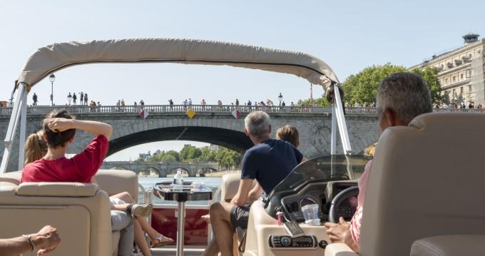 Suntracker Party Barge 24 entre particulares y profesional Paris