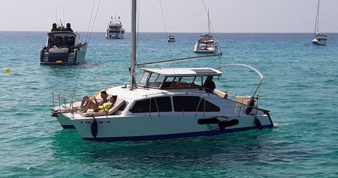 Alquiler de Catamarán, con o sin patrón BOBCAT La Savina