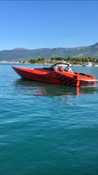 Alquiler Lancha Cougar 50 con título de navegación