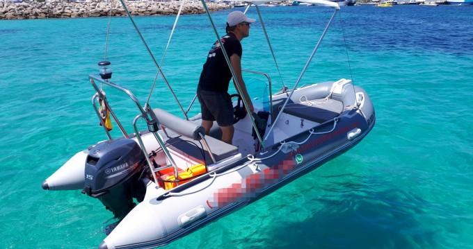 Alquiler Neumática en Formentera - navilux rib 3,90