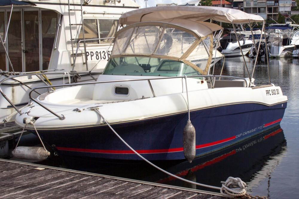 Alquiler de barcos Le Gosier barato de Cap Camarat 6,25 WA