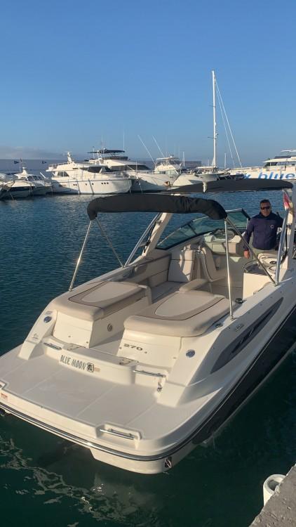 Alquiler de barcos Marbella barato de 270 SLX