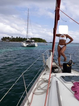 Alquiler de Bénéteau Oceanis 411 Clipper en Marie-Galante Island