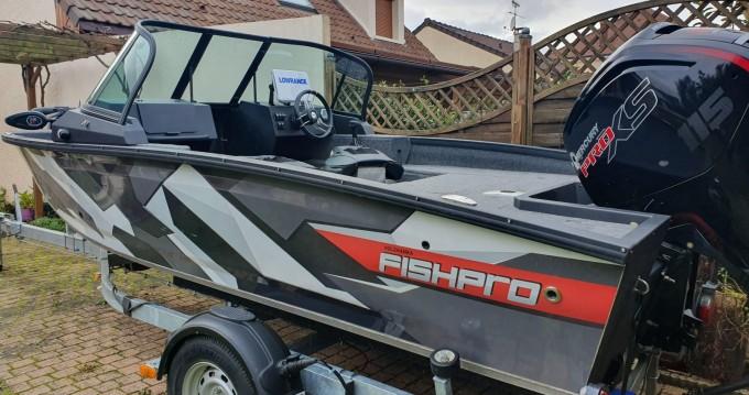 Alquiler de barcos Pontault-Combault barato de Fishpro 50