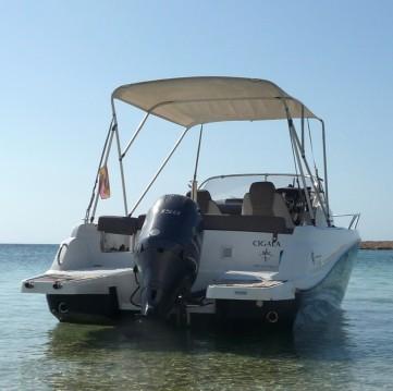 Alquiler de barcos Jeanneau Cap Camarat 6.5 WA enIsla de Ibiza en Samboat