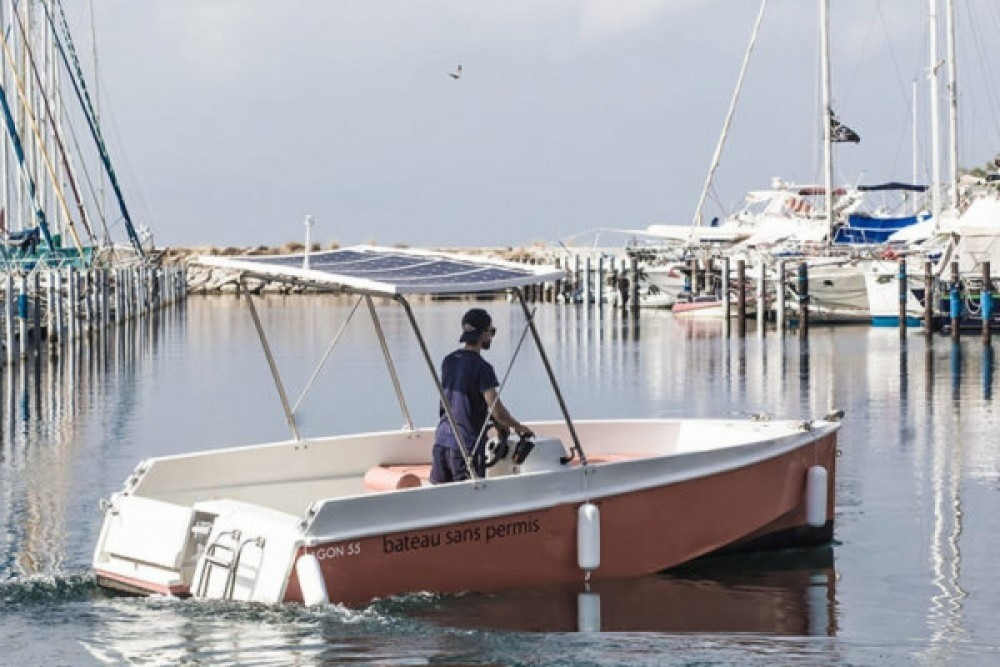 Alquiler de barcos Palavas-les-Flots barato de Lagoon 55