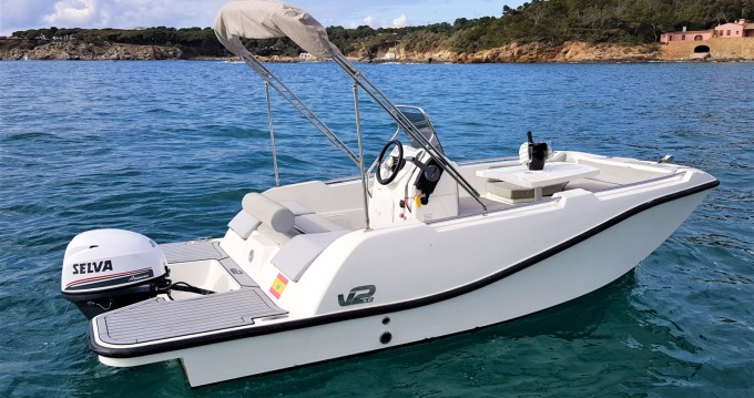 Alquiler Lancha V2 BOATS con título de navegación
