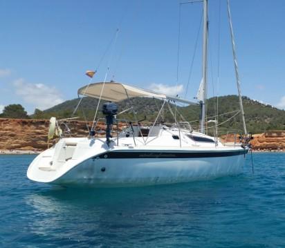 Alquiler de yate Ibiza (Ciudad) - Jeanneau Sun Odyssey 28.1 en SamBoat