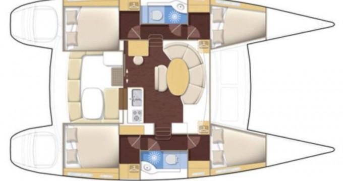 Alquiler Catamarán en Dénia - Lagoon Lagoon 380