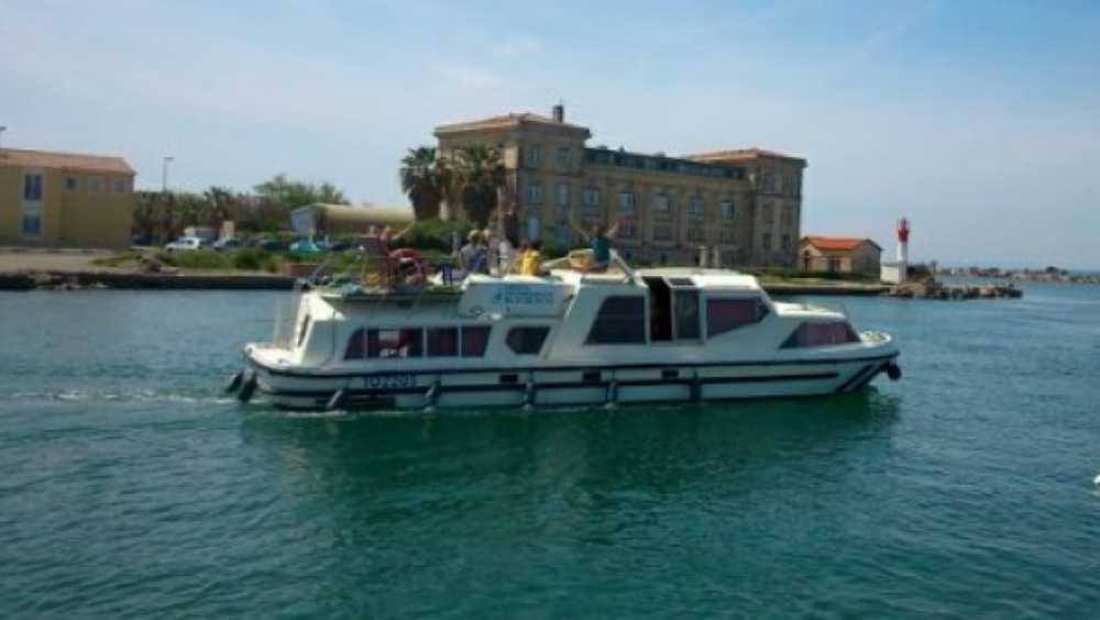 Casa flotante para alquilar Sète al mejor precio