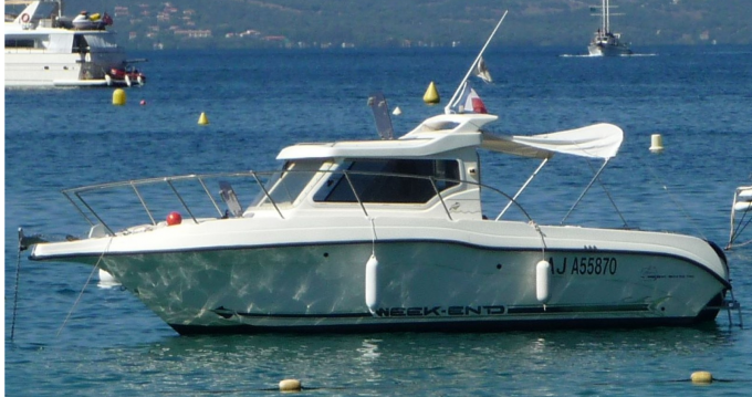 Alquiler Lancha Ultramar con título de navegación