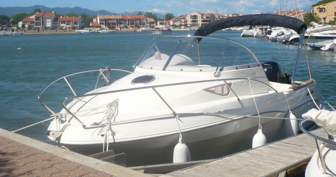 Alquiler de barcos Quicksilver Activ 555 Cabin enArgelès-sur-Mer en Samboat