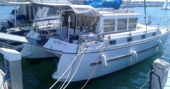 Alquiler Lancha catfisher con título de navegación