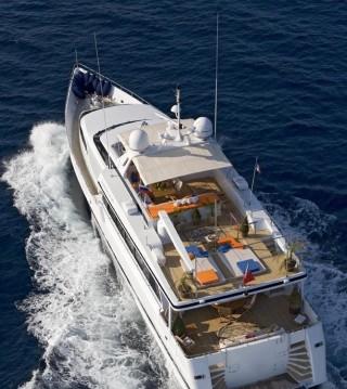 Alquiler Yate hessen con título de navegación