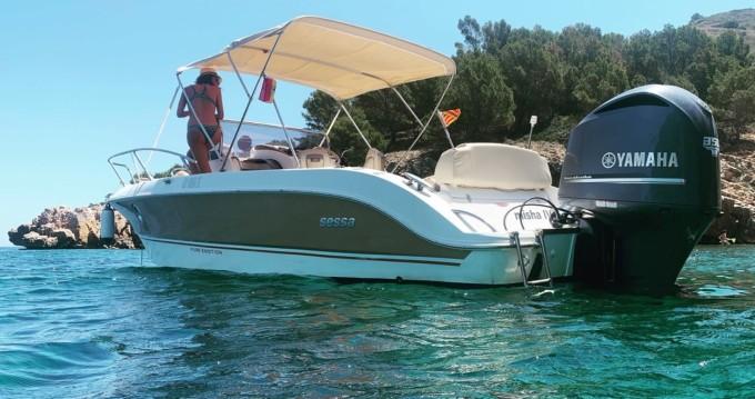 Sessa Marine Key Largo 26 entre particulares y profesional l'Estartit