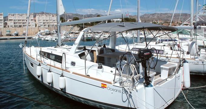 Bénéteau Oceanis 381 entre particulares y profesional Palma de Mallorca