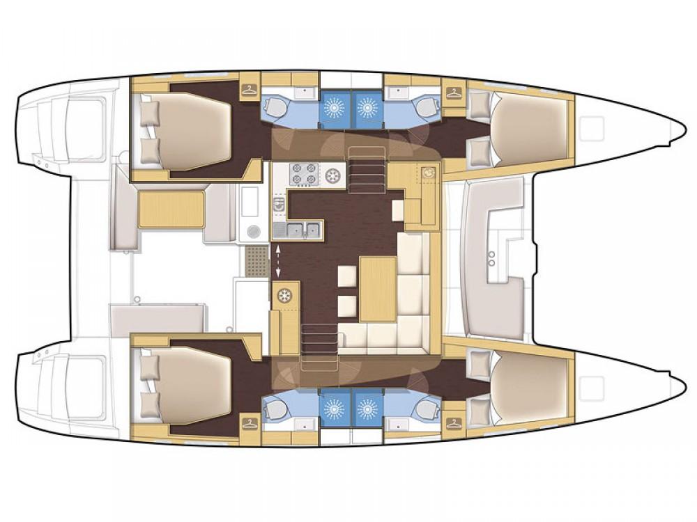 Alquiler de barcos Marina de Alimos barato de Lagoon 450 F
