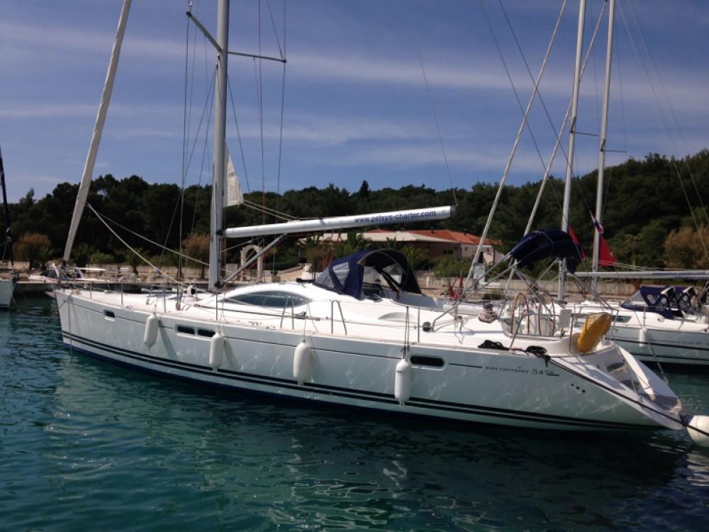Alquiler de barcos Jeanneau Sun Odyssey 54DS enRogosnizza en Samboat