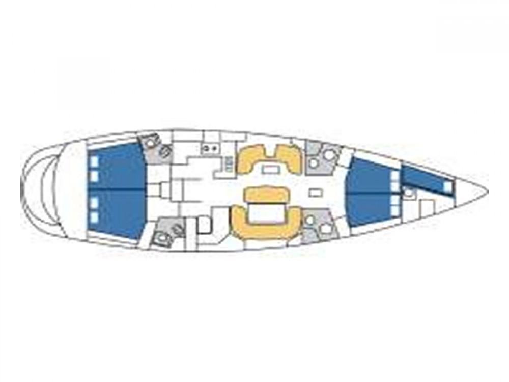 Alquiler de yate Rogosnizza - Jeanneau Sun Odyssey 54DS en SamBoat