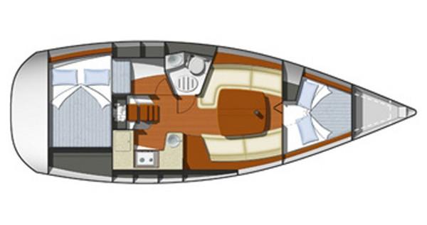 Alquiler Velero en Rogoznica - Jeanneau Sun Odyssey 32i