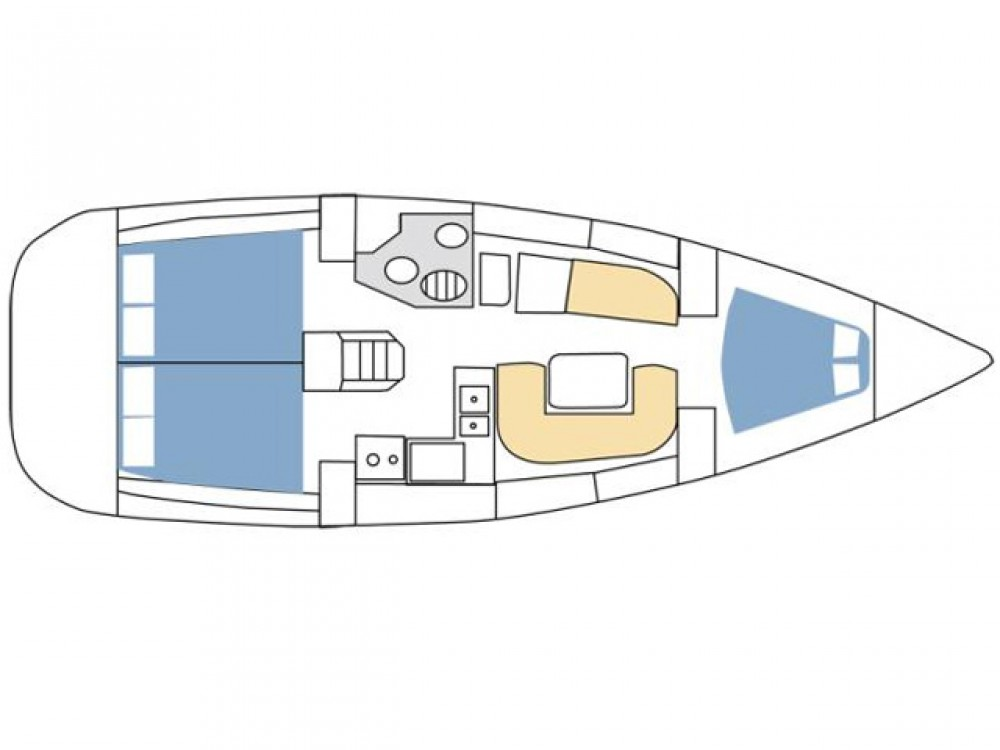 Alquiler de yate Rogoznica - Jeanneau Sun Odyssey 36i en SamBoat