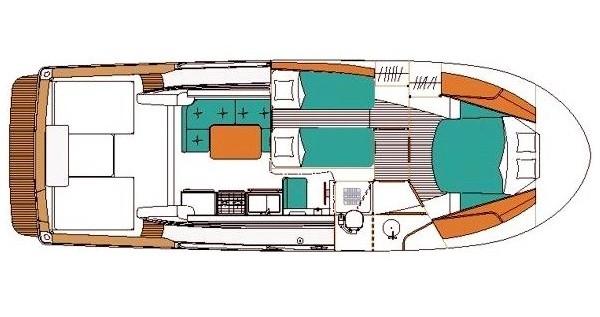 Alquiler Lancha en Rogoznica - Bénéteau Antares 10.80