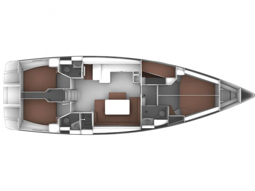 Alquiler de barcos Rogoznica barato de Bavaria Cruiser 51