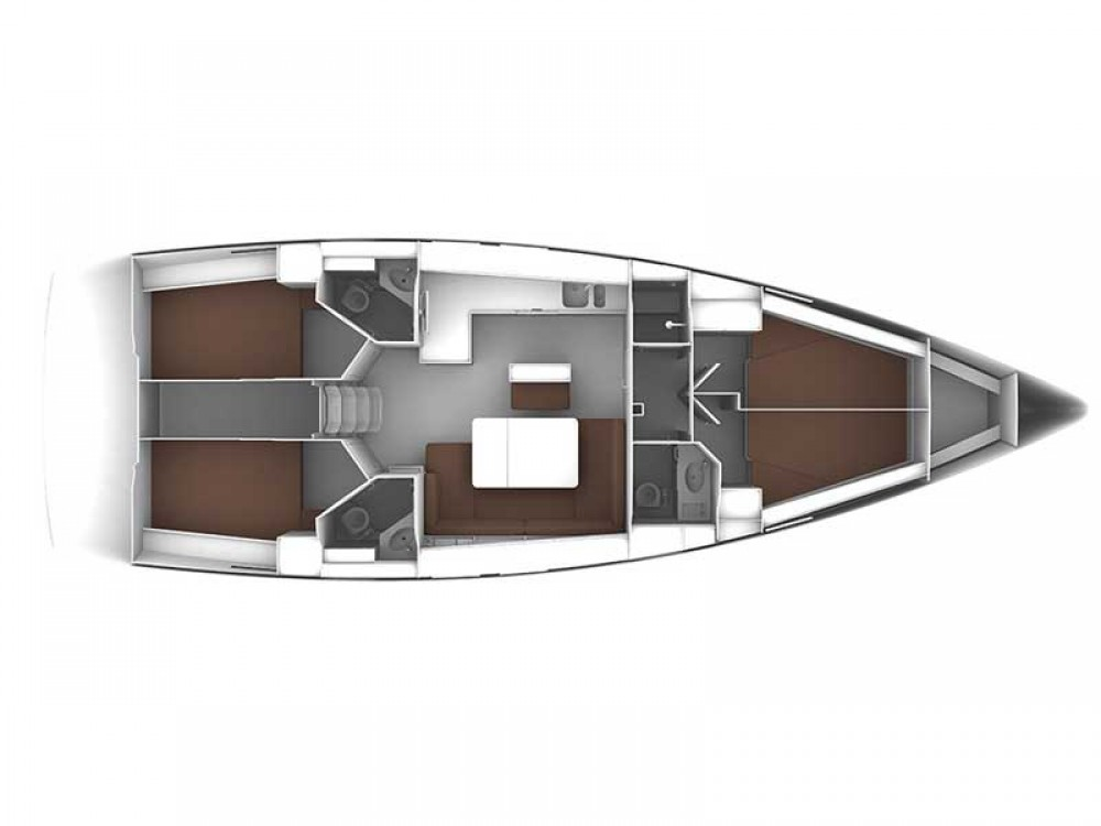 Alquiler de barcos Rogoznica barato de Bavaria Cruiser 46