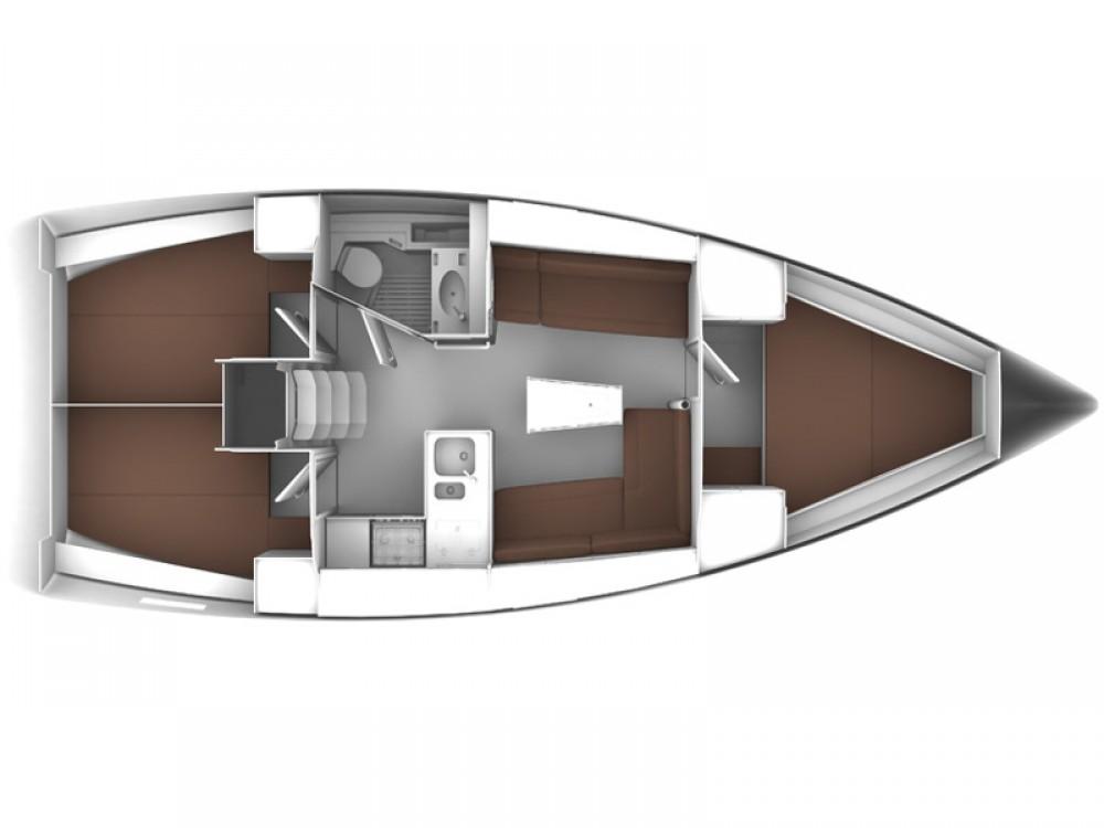 Bavaria Bavaria Cruiser 37 entre particulares y profesional Marina Lanzarote