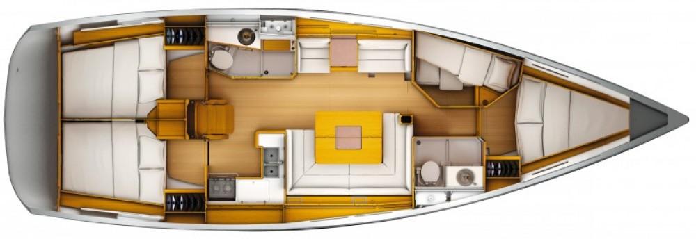 Alquiler de barcos Sukošan barato de Sun Odyssey 449