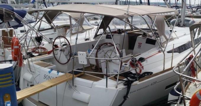 Alquiler de barcos Jeanneau Sun Odyssey 439 enSukošan en Samboat