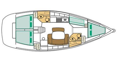 Alquiler de barcos Sukošan barato de Cyclades 43.4