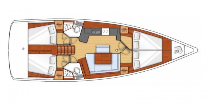 Alquiler de barcos Sukošan barato de Oceanis 45 V