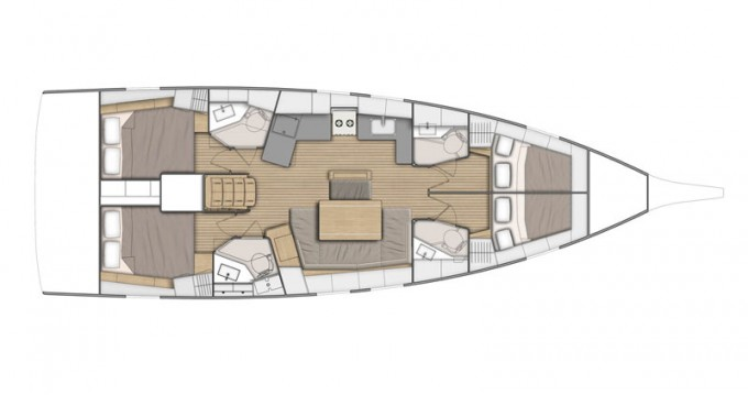 Alquiler de barcos Bénéteau Oceanis 46.1 enSukošan en Samboat
