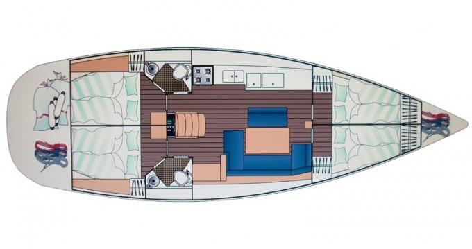 Alquiler de yate Marmaris - Jeanneau Sun Odyssey 44i en SamBoat